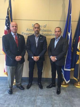 Viceministro De Interior Y Policía Intercambia Experiencia Sobre Control De Armas De Fuego En EEUU