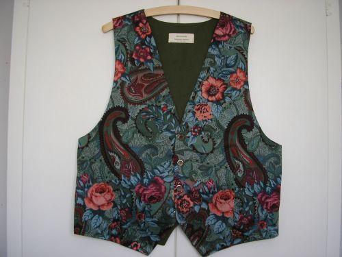 Mens Handmade Paisley Waistcoat 40 - 42