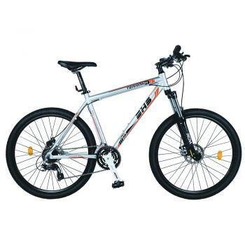 Bicicleta Mountain Bike Hardtail DHS Terrana 2725 - model 2015 27'', Gri/Portocaliu, Barbati