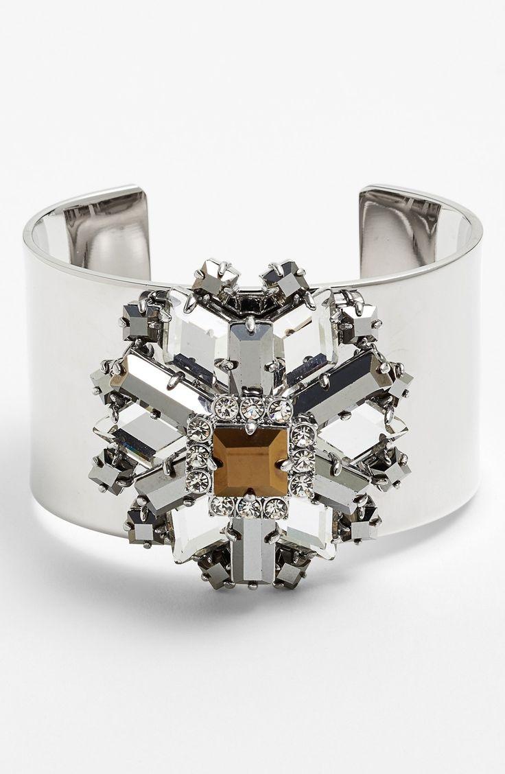 The shiniest cuff bracelet.