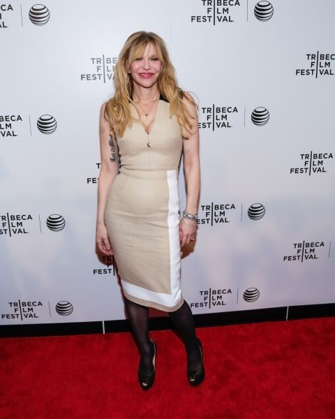 Courtney Love. See all the celebrities who attended the 2015 Tribeca Film Festival.