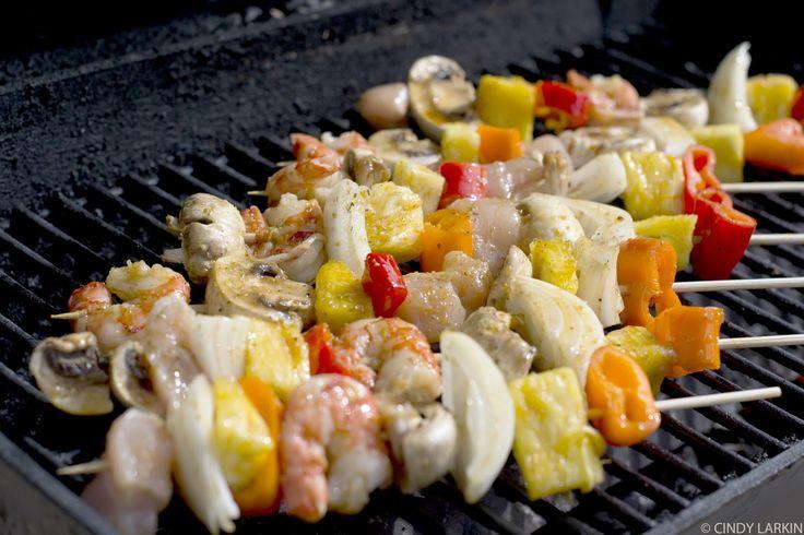 Shrimp Shish Kabobs | Shrimp & Chicken Shish Kabobs | Las Vegas Food Photographer: Cindy ...