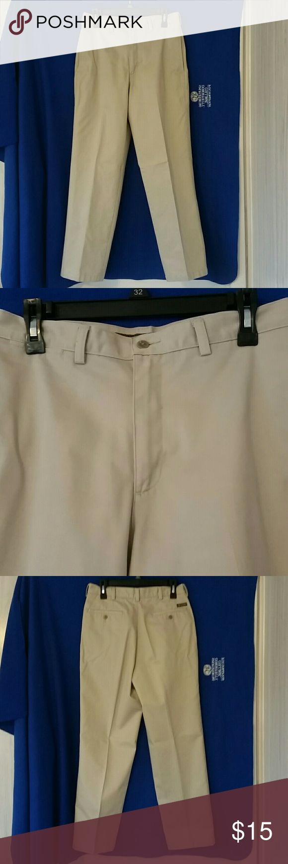 Mens Khakis sz 30 x 32 Savane Gently worn but one mark at the bottom of the left leg as shown in the 7th picture. Make an offer! Comes from a smoke/pet free home Savane Pants Chinos & Khakis