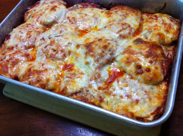 Mámorítós sajtos padlizsán! Villámgyors recept!