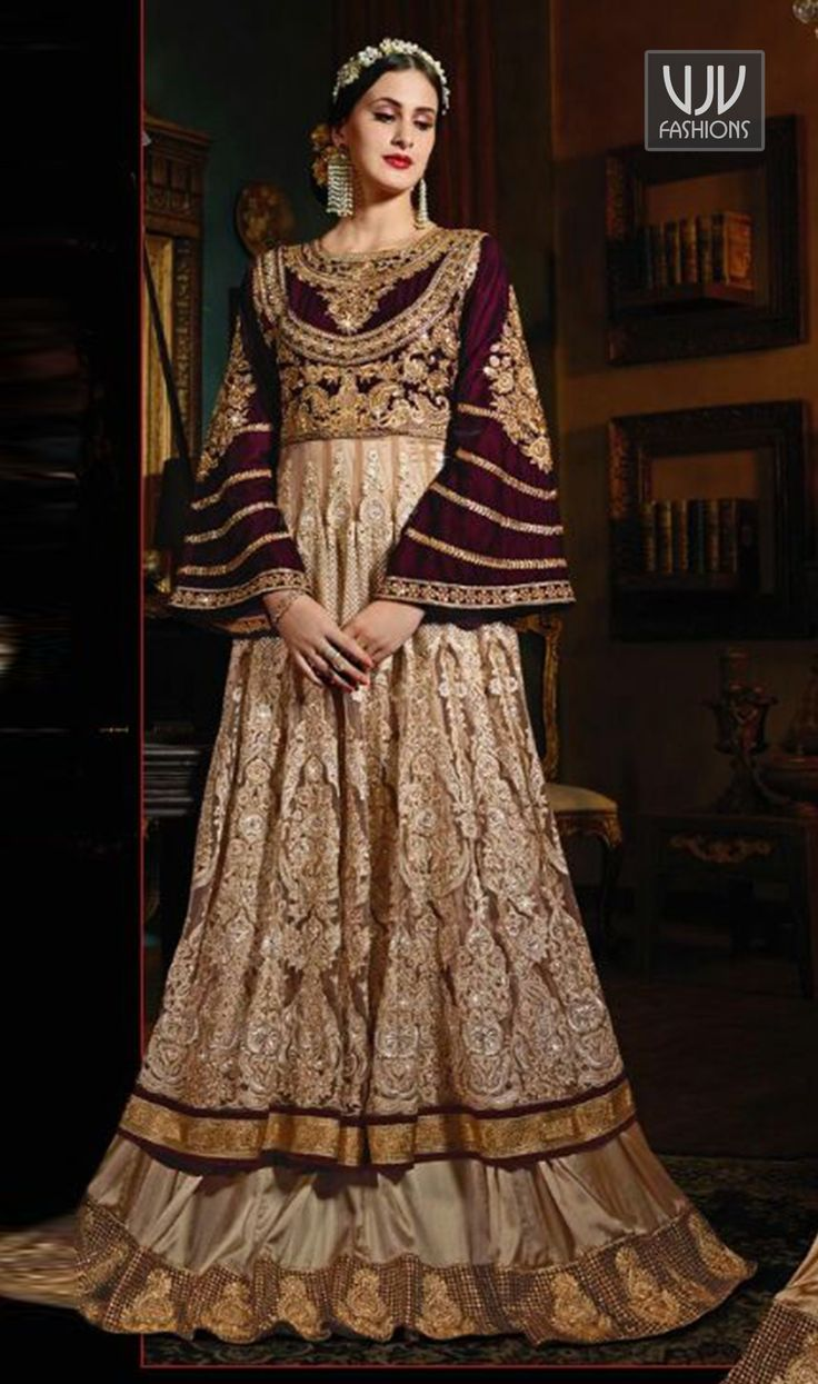 Latest Party Wear Suits Designer Anarkali Online Double Layer Salwar Suitore For Birthday Parties Friends Family Wedding