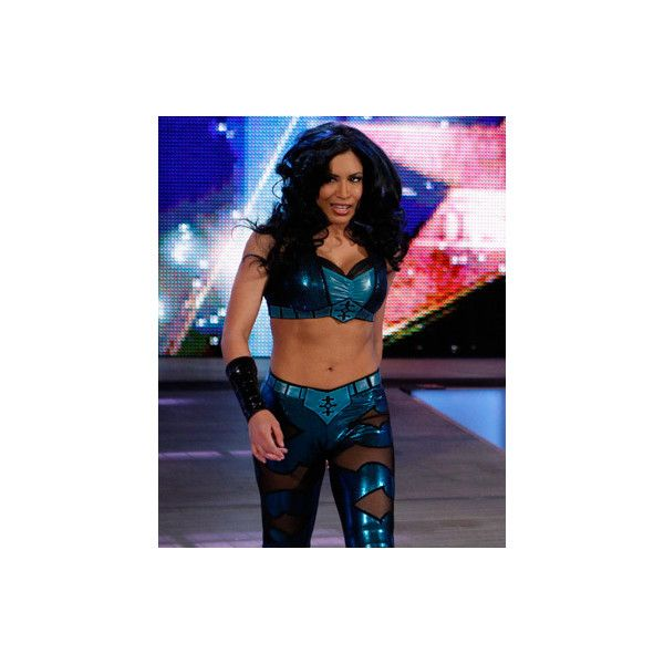 Melina WWE ❤ liked on Polyvore featuring wrestling, catch, melina and wwe