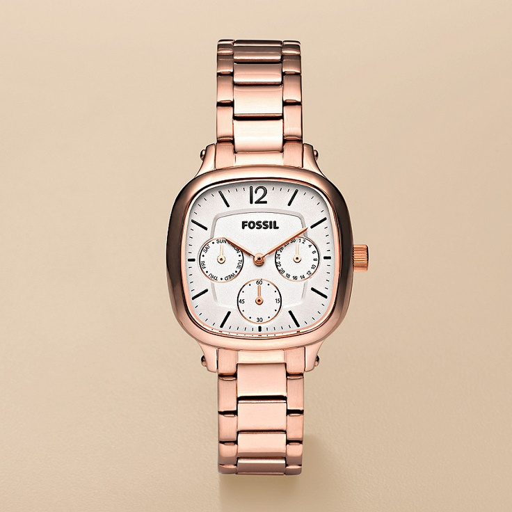 i love the square face of this rose gold watch so cute. Black Bedroom Furniture Sets. Home Design Ideas