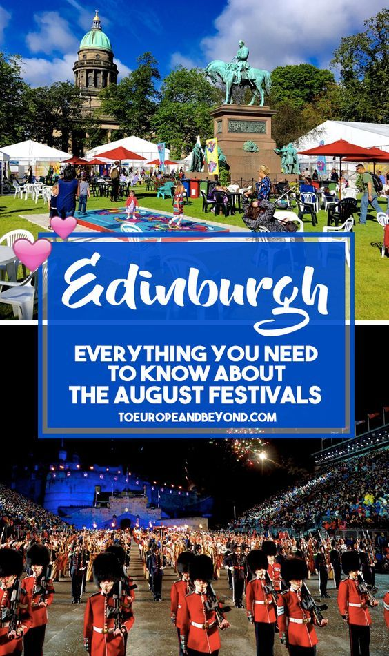 Edinburgh Festivals In August: Why You Should Not Miss Out via @marievallieres
