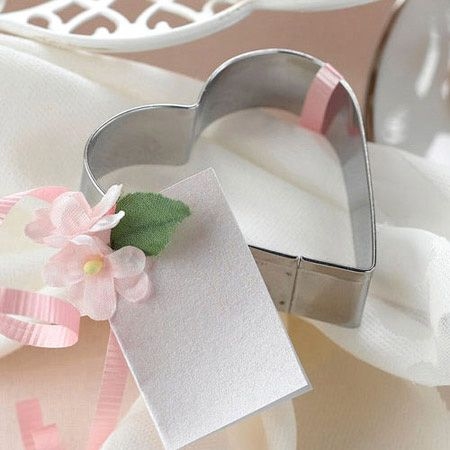 Party Favor Suggestions For Wedding And Baby Showers These Hearts Are Always 49 Cents Heart Cookie Cuttercookie