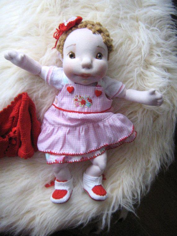 Waldorf DollBaby Doll Cloth DollSoft by MaryUniqueDoll on Etsy