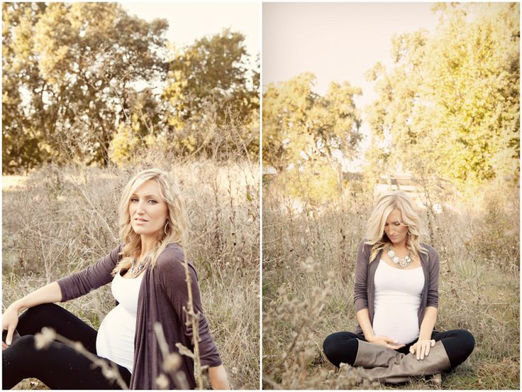 Cute simple outfit for maternity photos
