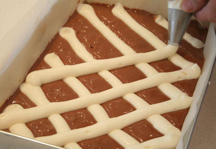 Ciasto czekoladowe z twarogową kratą | Dr. Oetker: Blog Kulinarny Pani Tereska