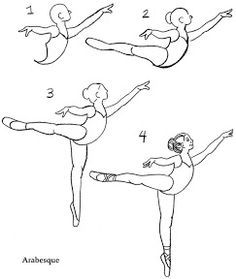 ballet shoes step by step drawing - Google Search
