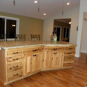 Best 25 rustic hickory cabinets ideas on pinterest log for Kitchen cabinet worx greensboro nc