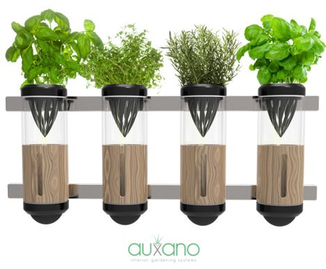 Auxano Home Hydroponic System by Philip Houeiellebecq - soil-less plant system great for small apartments!