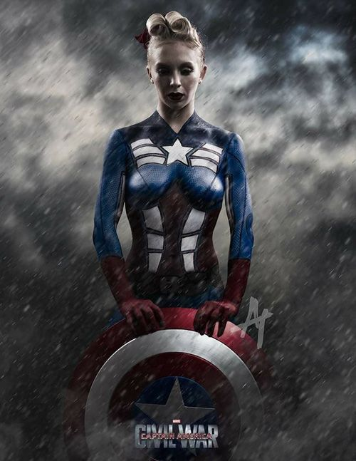 311 best images about geeky makeup body paint on for Americas best paint