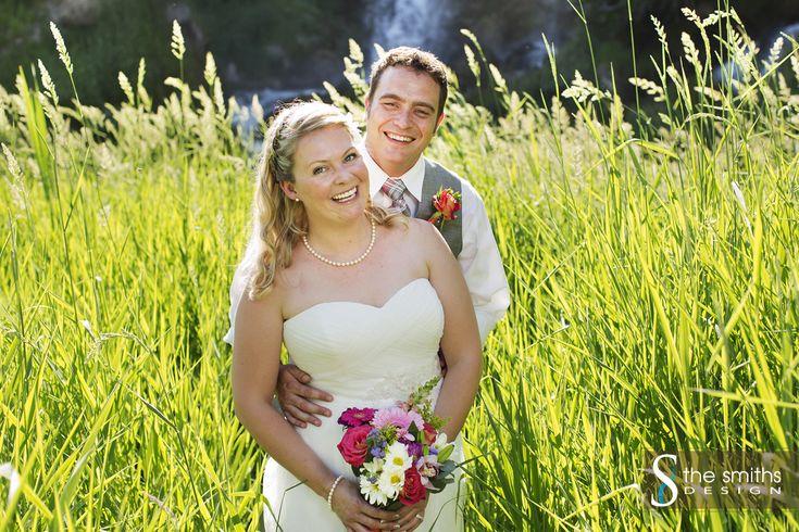 Rifle Falls, Colorado Wedding ©The Smiths Design