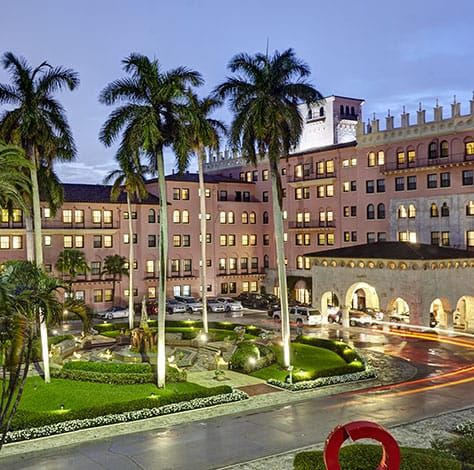 Boca Resort- Boca Raton, Florida.