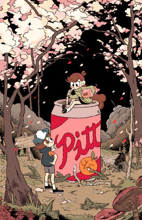 Those coming to the Gravity Falls panel at Momocon will get this poster drawn by…