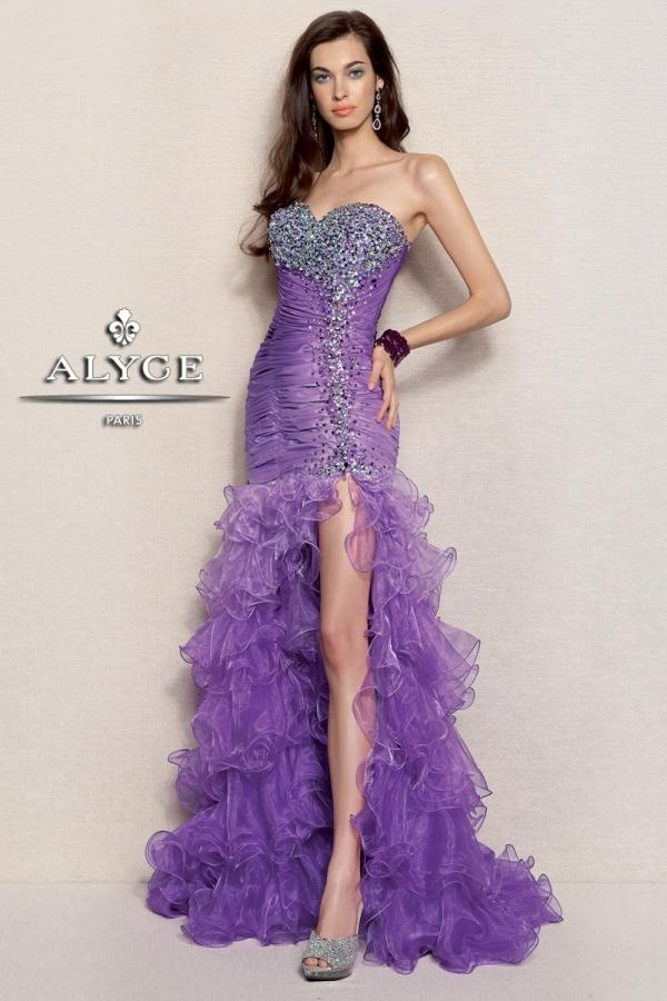 Vistoso Vestidos De Fiesta 2013 Alyce Modelo - Vestido de Novia Para ...