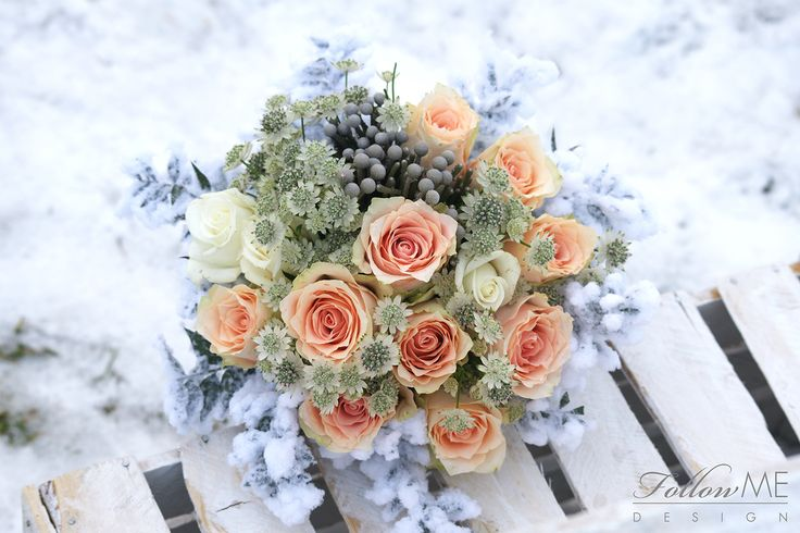 Zimowy bukiet ślubny / Zimowe dekoracje ślubne od FollowMe DESIGN / Winter wedding bouquet / Winter Wedding Decorations & Details by FollowMe DESIGN
