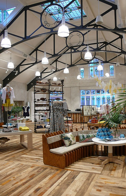 Anthropologie - I would furnish my house entirely with Pier 1 and Anthro products. If only...