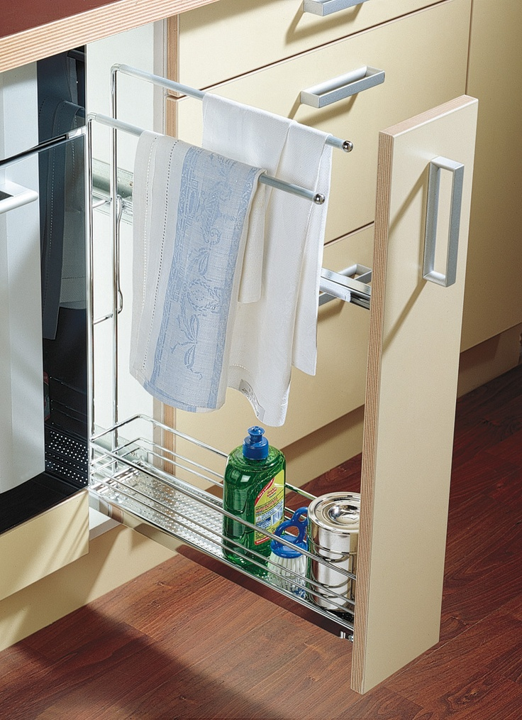Tea towel rail & detergent holder.