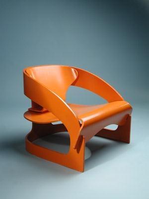 Arm Chair. Joe Colombo. Kartell.
