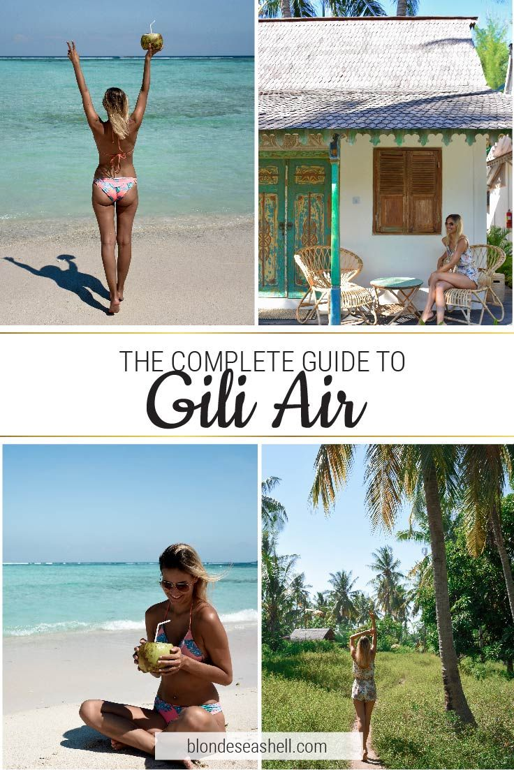 Gili Air travel guide. Where to stay in Gili Air, what to do and where to eat.