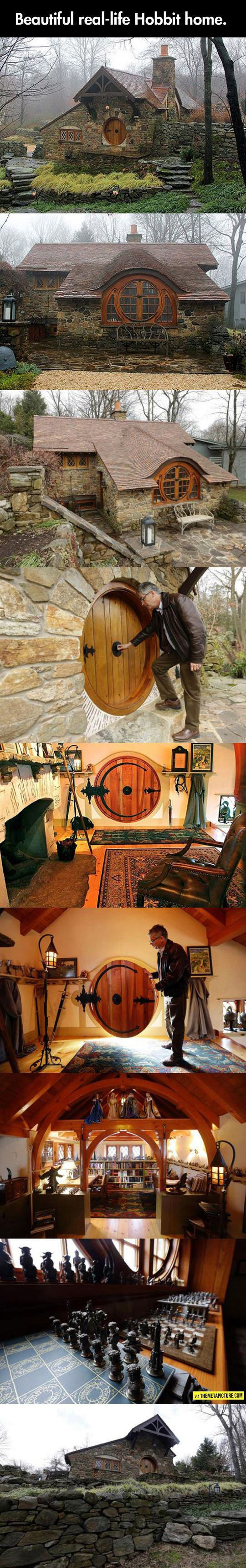 Oh my goodness, oh my goodness! I would never leave! Is it just me or would it be the most amazing time in the history of the world to read the lord of the rings while sitting in a hobbit house! Uh, yes I did just realize how unapologetically nerdy I truly am!