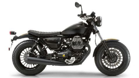 Moto Guzzi V9 Bobber Side