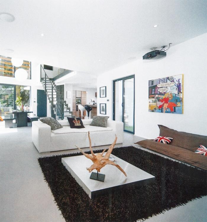 Id e luminaire vide sur s jour maison pinterest lyon - Prix d une maison de 120m2 ...