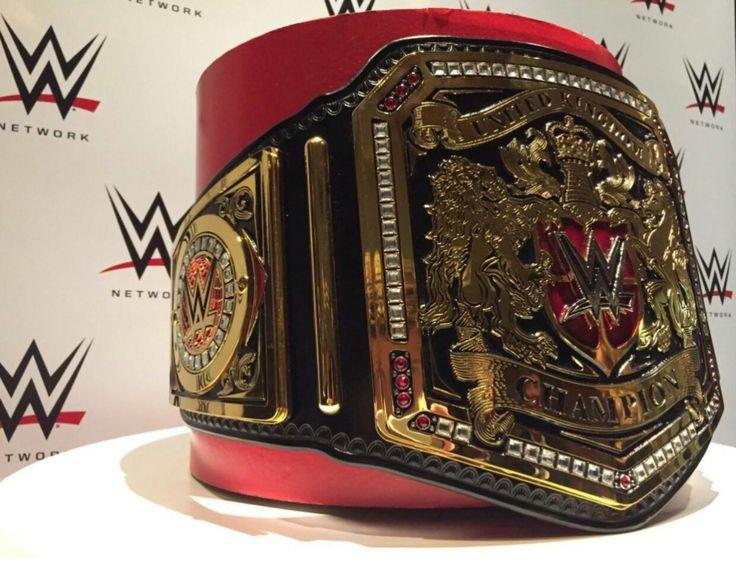 WWE UK Belt