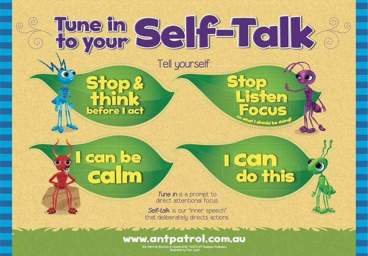 Control Emotional Self Steps