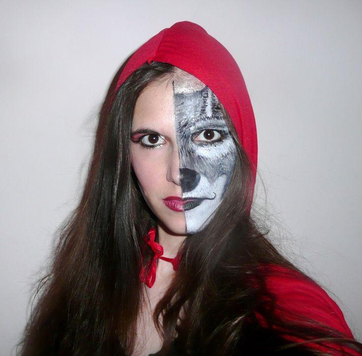 20 best haloween images on Pinterest | Costumes, Werewolf makeup ...