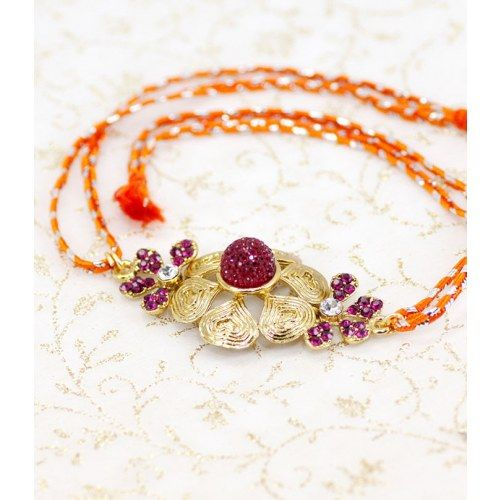 Kundan Polki #Rakhi for your beloved ones. #Tradition #India