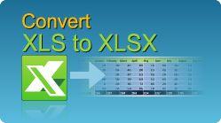 Convert Excel XLS to XLSX in C#, VB.NET, Java, PHP, ASP classic, C++, C++.NET, VB6, VBS! XLS, XLSX, XLSM, XLSB spreadsheets by EasyXLS.  #EasyXLS #Convert #Excel #XLS #XLSX