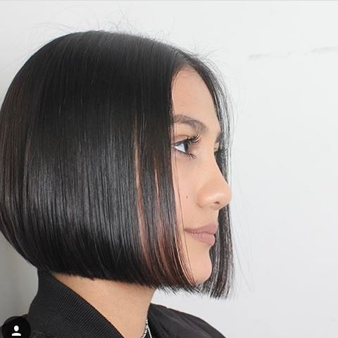 642 best One length bob images on Pinterest | Bob hairstyles, Bobs and Bob hairs
