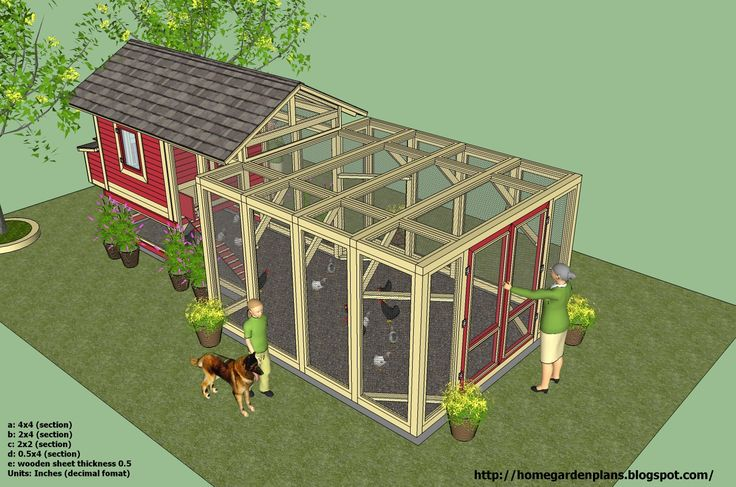 amish chicken coops | images of using the best chicken coop house plans to keep chickens in ...