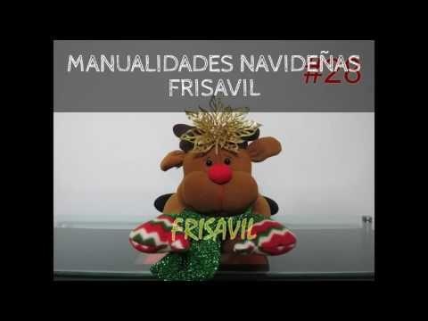 Cojines Manualidades Navideñas Frisavil - S/. 40,00 en Mercado Libre