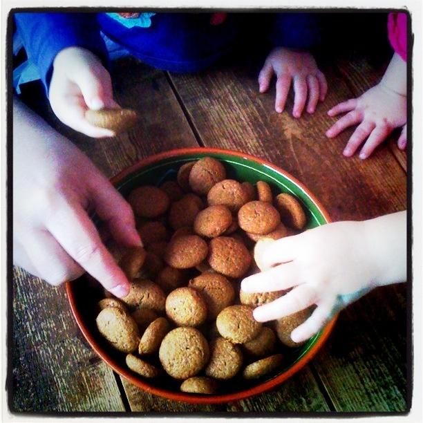 Gluten-free gingerbread cookies (Glutenvrije kruidnoten)