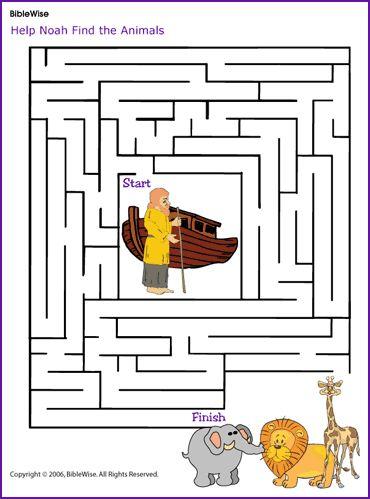 Noah's Ark Maze