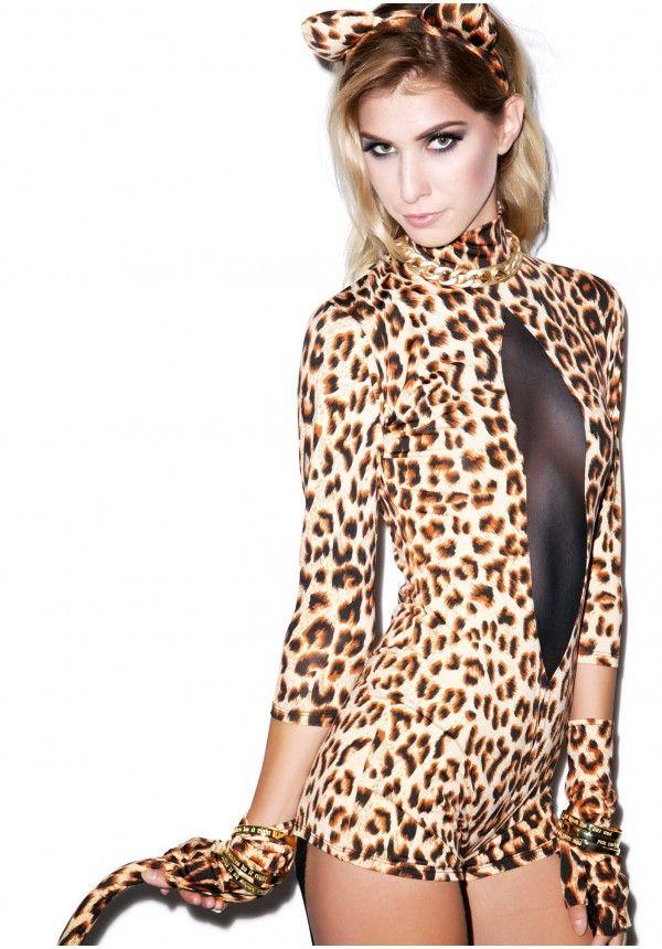 Sexy Leopard Costume | Dolls Kill