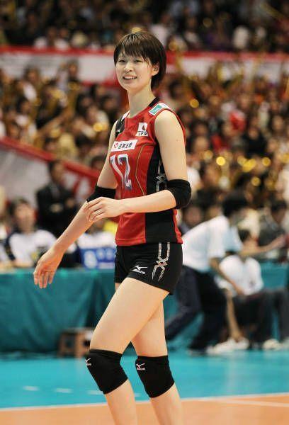 木村沙織(日本)。写真は、ロンドン五輪世界最終予選兼アジア予選のロシア戦で(東京)