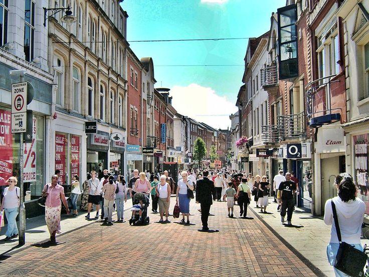 nottingham streets Nottingham, England