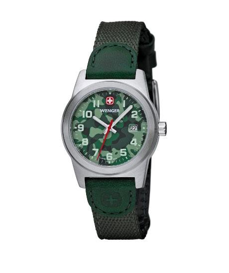 01.0411.101  Estético y funcional, el reloj Wenger Field Classic Color está listo para dar servicio - en cualquier lugar, en cualquier momento. #watches