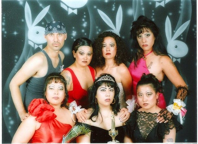 """The 'Folk Feminism' Roots Of The Latina 'Chola' Look  From the article: """"The chola aesthetic was first forged by the marginalized Mexican American youths of Southern California. It embodies the remarkable strength and creative independence it takes to survive in a society where your social mobility has been thwarted by racism."""""""