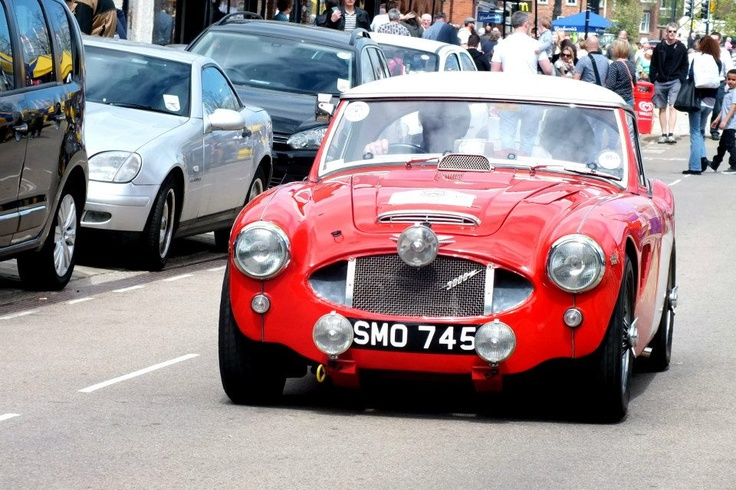 Classic cars in Stratford Upon Avon.
