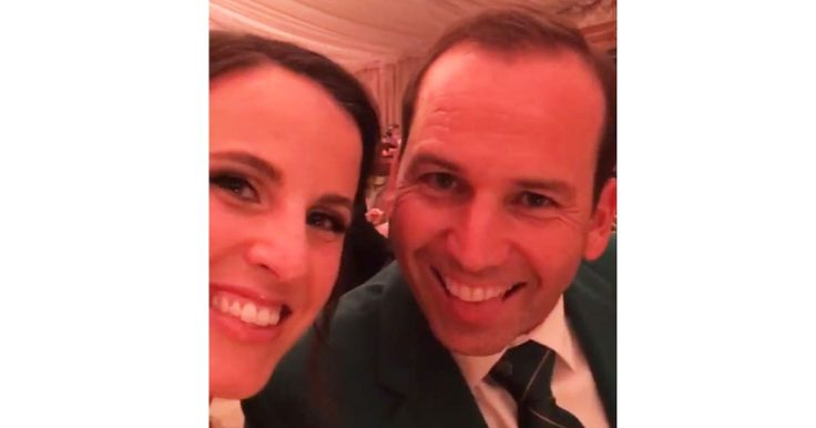 And the Groom Wore Green: PGA Star Sergio Garcia Wears Masters Jacket at Wedding