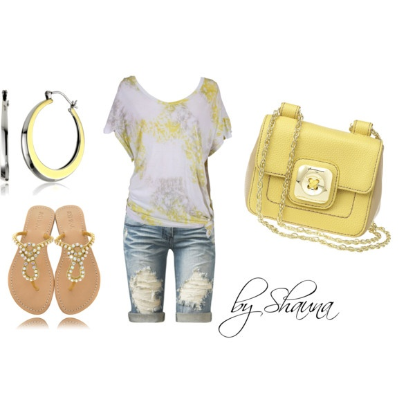 Outfit: Yellow Outfits, Dreams Closet, Fashion Style, Sugar Oversized, Summer Outfits, Clothing Spr, Yellow Sugar, Clothing Outfits, Create